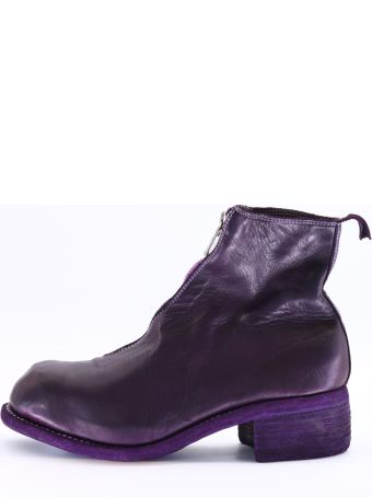 Guidi Ankle Boot Purple