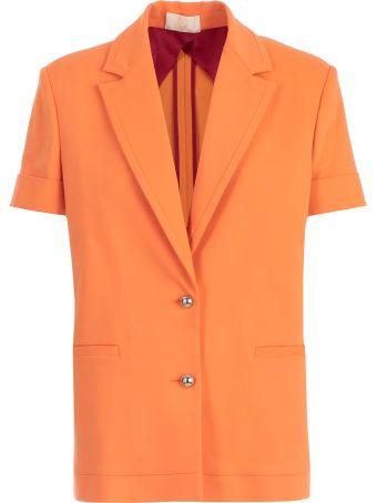 Sara Battaglia Jacket 3/4s W/fringe