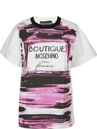 Boutique Moschino Logo Print T-shirt