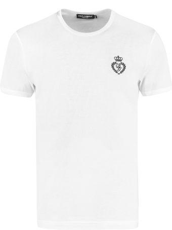 Dolce & Gabbana Cotton Crew-neck T-shirt