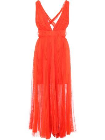 Maria Lucia Hohan Margo Pleated Tulle Dress