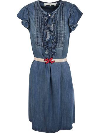 Elisabetta Franchi Celyn B. Elisabetta Franchi For Celyn B. Ruffle Detail Dress