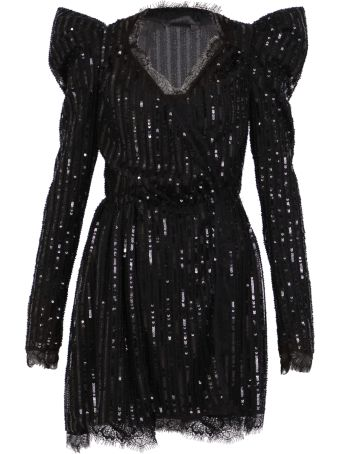 Amen Sequinned Short Dress