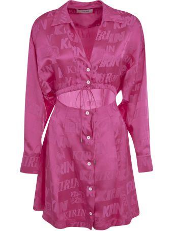 Kirin Typo Fluid Coulisse Short Dress