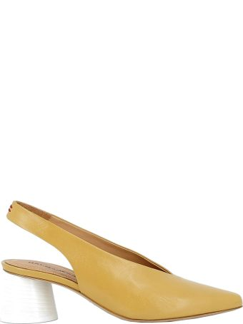Halmanera Yellow Leather Sandals