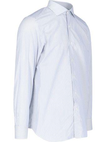 Finamore Stripes Pattern Shirt