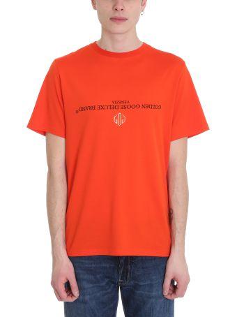 Golden Goose Golden Orange Cotton T-shirt