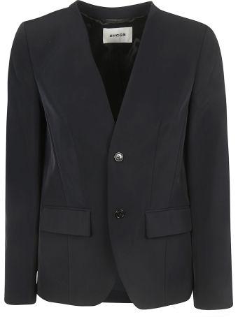 Zucca Collar-less Blazer