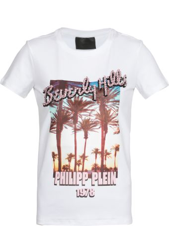 Philipp Plein T Shirt With Decorations