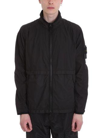 Stone Island Black Technical Fabric Jacket