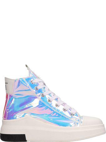 Cinzia Araia Opalescent Mesh Sneakers