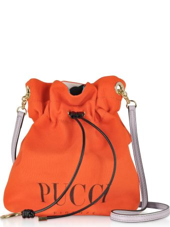 Emilio Pucci Signature Mini Bucket Bag
