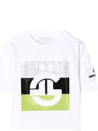 Gaelle Bonheur Paris Kids White T-shirt