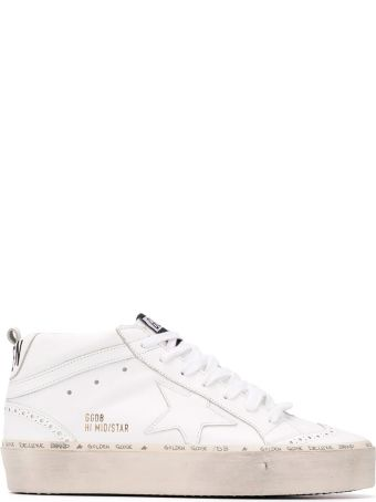 Golden Goose Hi Mid Star Sneakers