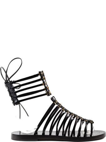 Alaia Embellished Sandals