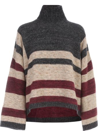 Antonio Marras Oversized Striped Sweater