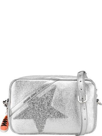 Golden Goose Star Crystal-embellished Crossbody Bag