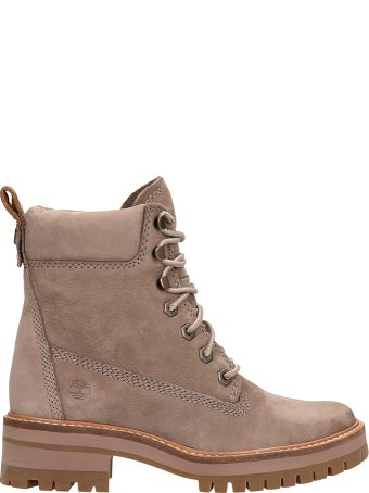Timberland Taupe Suede Amphibious Courmayeur 6in