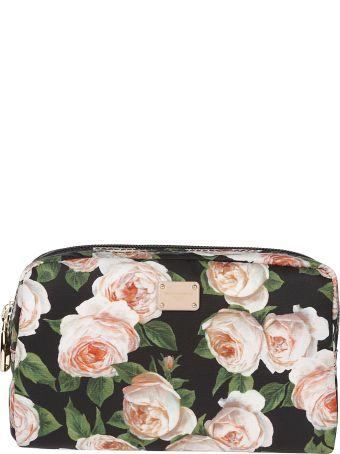 Dolce & Gabbana Floral Print Makeup Clutch