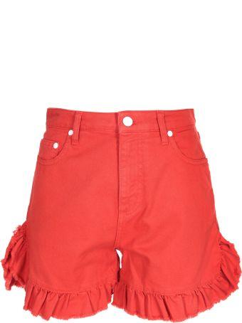 MSGM Pleated Shorts