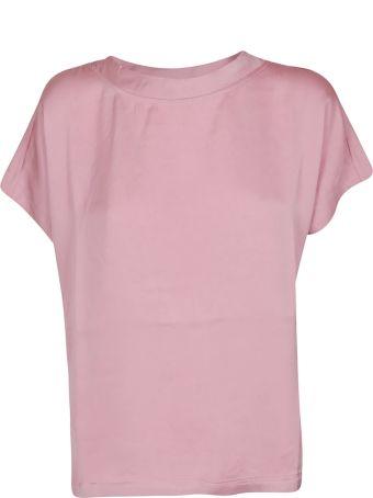 SEMICOUTURE Knot Hem T-shirt