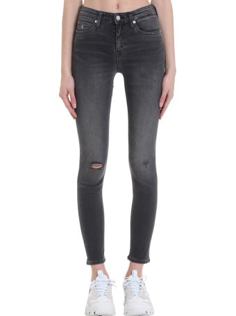 Calvin Klein Jeans Jeans In Black Denim