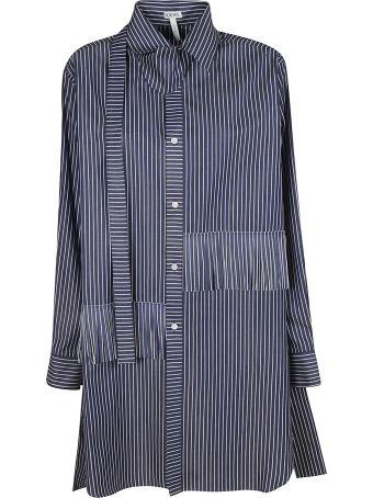 Loewe Striped Print Oversized Shirt