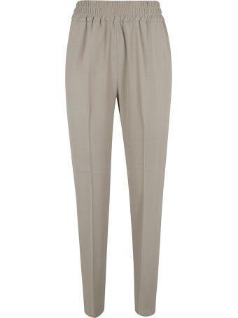 Fabiana Filippi Ribbed Waist Classic Trousers