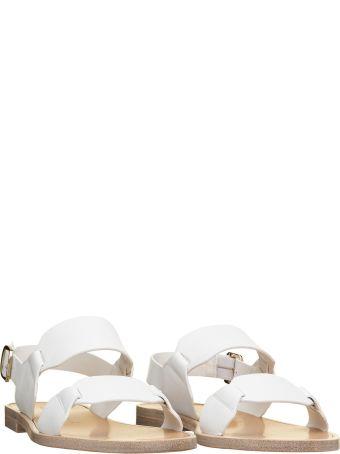 Santoni Santoni Brown Sandals