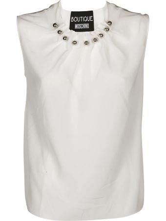 Boutique Moschino Steel Balls Detailed Shirt