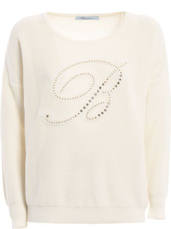 Blumarine Knit Logo Top