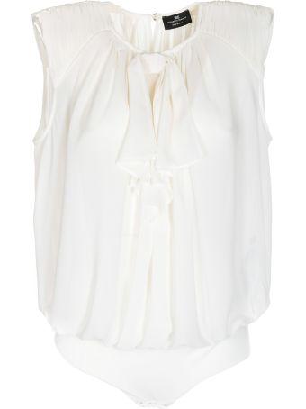 Elisabetta Franchi Celyn B. Elisabetta Franchi For Celyn B. Frill-trim Sleeveless Top