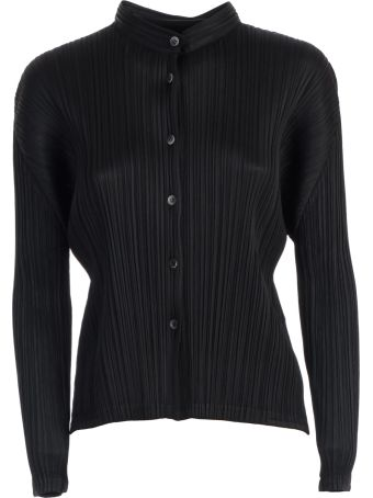 Pleats Please Issey Miyake Pleats Please By Issey Miyake Pleated Shirt