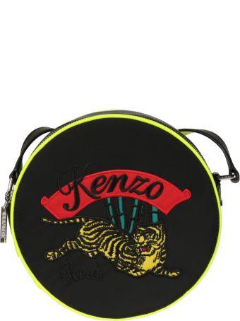 Kenzo Embroidered Logo Shoulder Bag