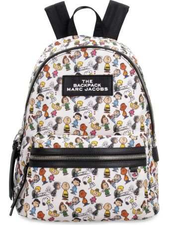 Marc Jacobs Nylon Backpack With Patch - Peanuts X Marc Jacobs