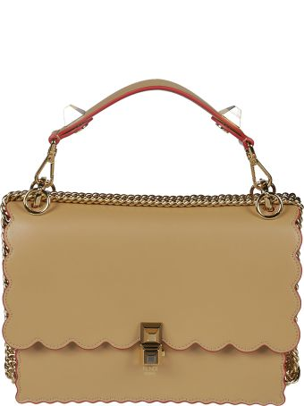 Fendi Classic Scalloped Tote
