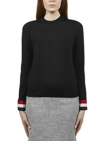 Thom Browne Striped Cuff Sweater