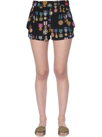 Mr & Mrs Italy Crêpe De Chine Shorts