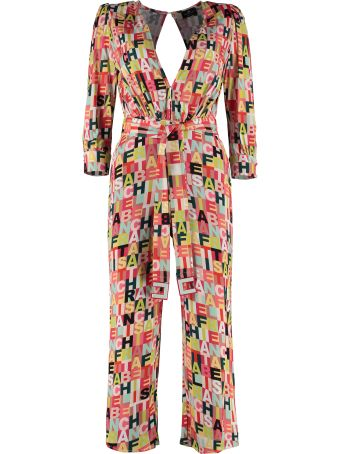 Elisabetta Franchi Celyn B. Viscose Jumpsuit With Belt