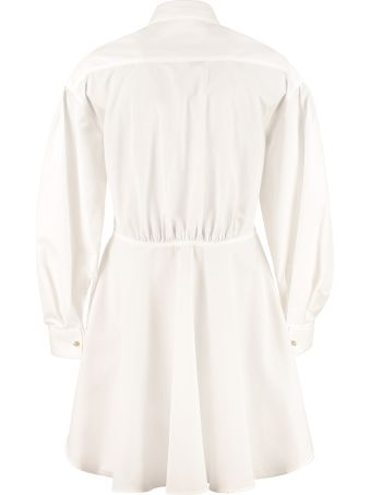 Etro Long Cotton Poplin Shirt
