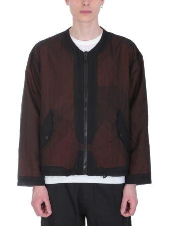 Our Legacy Shell Black Nylon Bomber Jacket