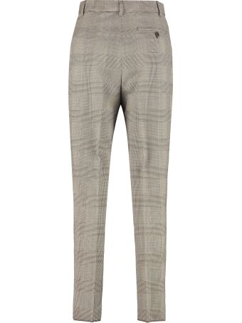 Max Mara Studio Lione Prince Of Wales Checked Trousers