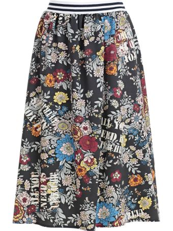 Ultrachic Floral Printed Skirt