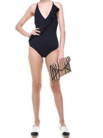 Marysia Swim Palisades Ruffled Swimsuit
