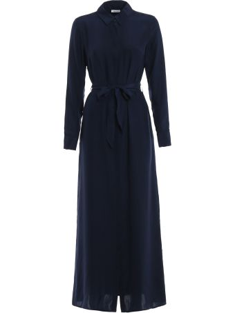 Parosh P.a.r.o.s.h. Belted Shirt Dress
