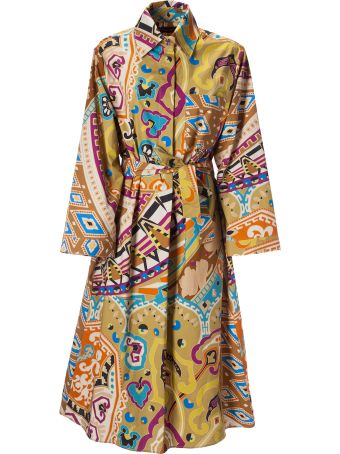 Etro Aztec Print Shirt Dress