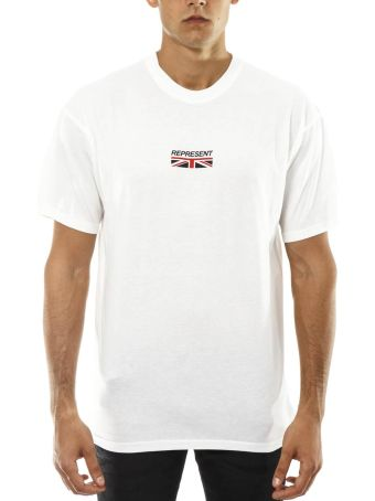 REPRESENT Represent White Cotton T-shirt
