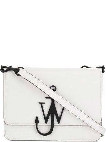 J.W. Anderson Mini Logo Purse Leather Cross-body Bag
