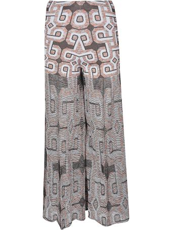 Circus Hotel Jacquard Palazzo Trousers