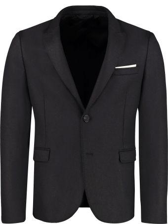 Neil Barrett Single-breasted Two Button Jacket